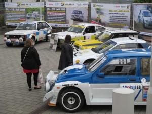 Rallyefahrzeuge des MSC Daun