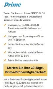 Amazon Prime - Kleingedrucktes