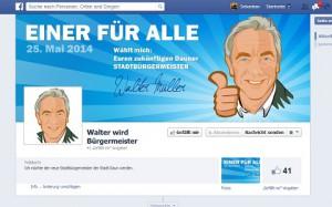 Stadtbürgermeisterkandidat Daun - Walter Müller